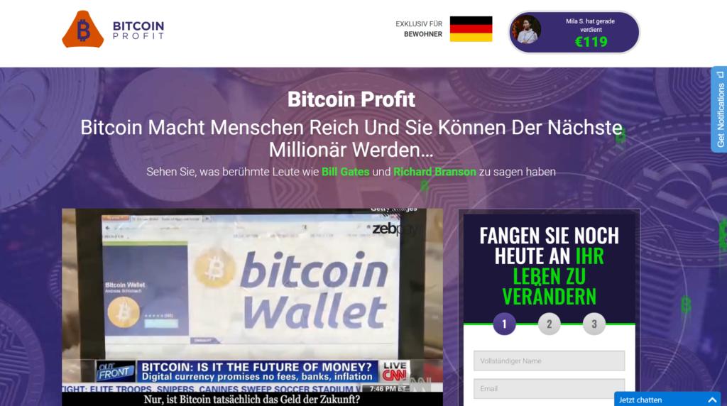 Bitcoin Profit Bewertung