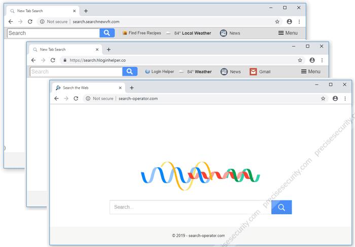Google Chrome Browser Hijacker