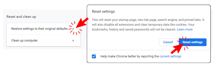 Remove Adware by Resetting Google Chrome Browser - Computer Fix and