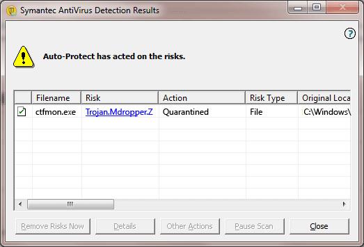 Trojan.Mdropper.Z - Virus Solution and Removal