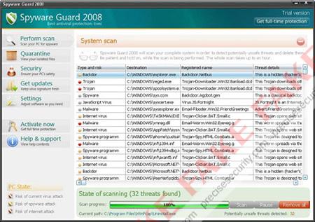 Spyware Guard 2008 Virus