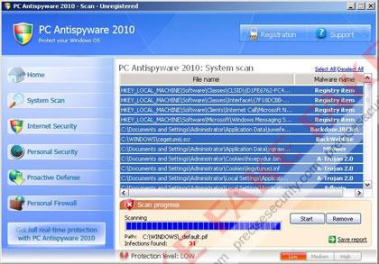 PC Antispyware 2010 image