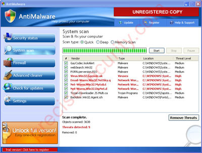 AntiMalware Virus