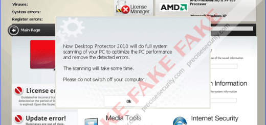 Desktop Protector 2010 Virus