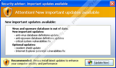 Important updates available