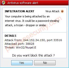 Antivirus Software Alert Image