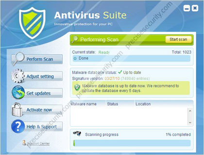 Antivirus Suite Scanner Image