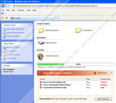 Myonlineradio. Exe process that infect your browser [removal.