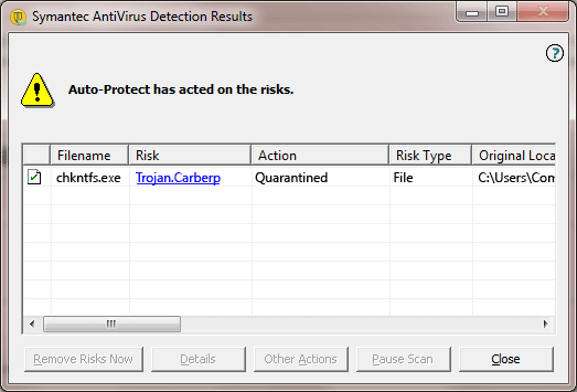 Trojan.Carberp - Virus Solution and Removal