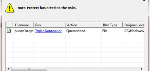 Trojan.Koutodoor Detection