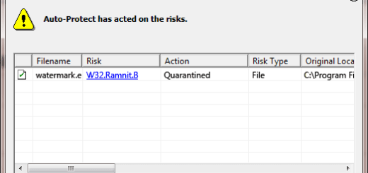 W32.Ramnit.B detection