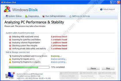 Image of Windows Disk Virus