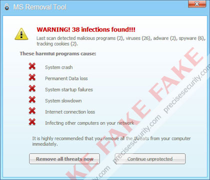 MS Removal Tool - Virus Solution and Removal