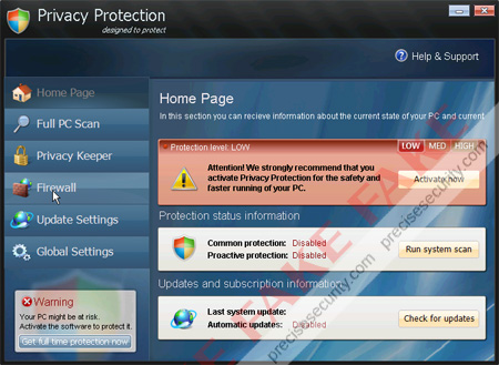 Privacy Protection Scanner