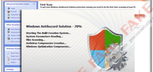 Windows Antihazard Solution