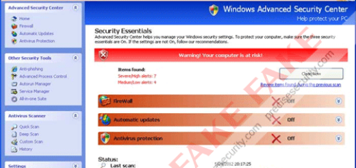 Windows Antivirus Rampart