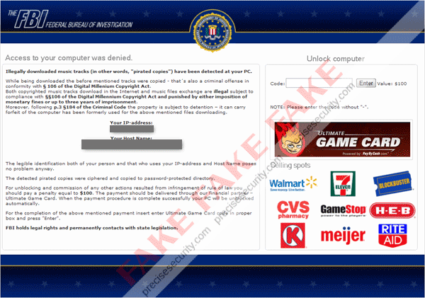 Fbi Your Pc Is Blocked Virus Solution And Removal