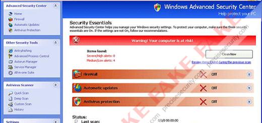 Fake Windows Secure Workstation
