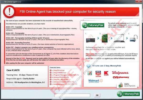 FBI Online Agent Malware