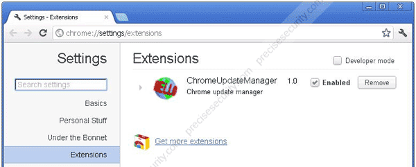 chromeupdatemanager