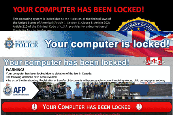 Computer Locked Virus