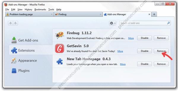GetSavin Firefox