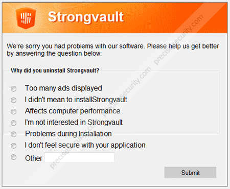 strongvault-survey