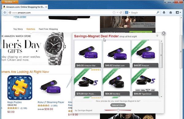 Savings-Magnet Ads