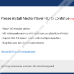 """""""Please Install Media Player HD Player to Continue"""" Pop-up"""