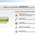 Freecause Toolbar