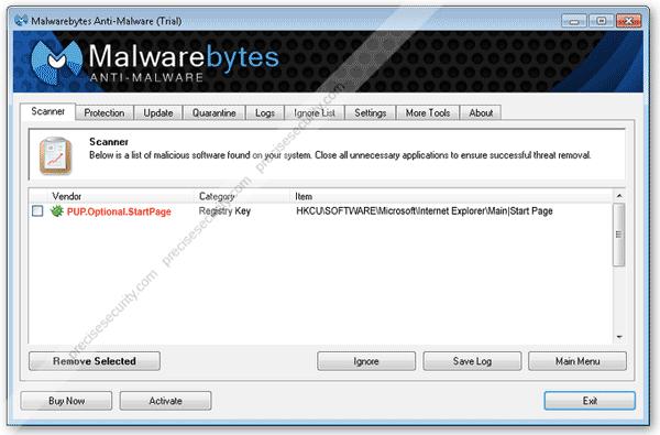 Adware StartPage
