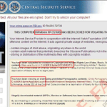 "Remove ""Central Security Service"" Ransomware"