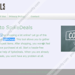 Remove SpikeDeals ads
