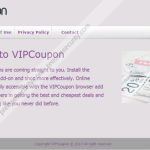 Remove VIPCoupon adware