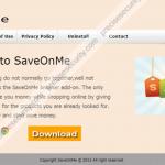 Remove SaveOnMe Adware