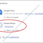 Remove ShopNDrop adware