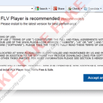 """""""FLV Player is recommended"""""""