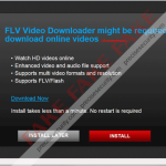 """""""FLV Video Downloader might be required to download online videos"""""""