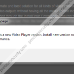 "Remove ""There is a new Video Player version"""