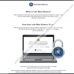 Remove safeweballiance.com hijacker (Safe Web Alliance)