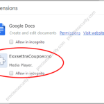 Remove ExstraCoupon Extension