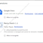 Remove Media Watch 1.1 (Ads by Media Watch)