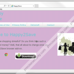Get rid of Happy2Save Ads