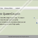 How to remove QueenCoupon extension
