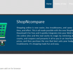 Remove pop-up ads by ShopNcompare