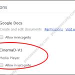 Remove CinemaD-V1 extension