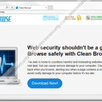 """Uninstall """"Clean Browse"""" adware"""