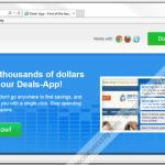 "Remove ""Deals App"" pop-up ads"