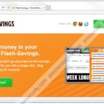 Stop FlashSavings pop-up ads