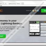 Get rid of Lightning-Savings Ads